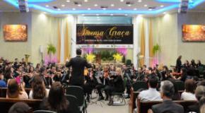 """Coral e Orquestra celebram aniversário com Musical """"Imensa Graça"""""""
