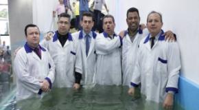 Quarto Batismo do Ano de 2017 realizado no inicio do mês de Agosto
